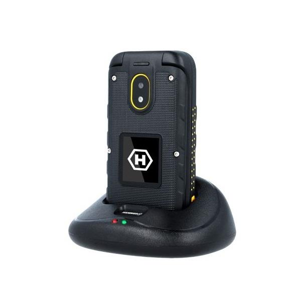 HAMMER Bow+ 2,4 3G Dual SIM csepp-, por- és ütésálló mobiltelefon - 4