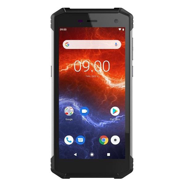 HAMMER ENERGY 2 5,5 LTE 3/32GB Dual SIM fekete csepp-, por- és ütésálló okostelefon - 1