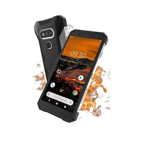 HAMMER Explorer 5,72 LTE 3/32GB Dual SIM fekete-ezüst csepp-, por- és ütésálló okostelefon - 1