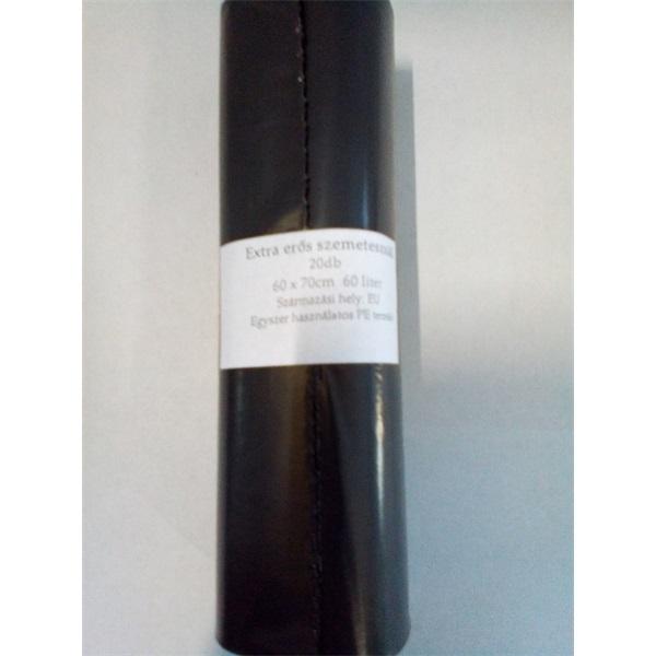 Háztartási szemeteszsák 60l 60*70cm 14my 20db/csomag - 2