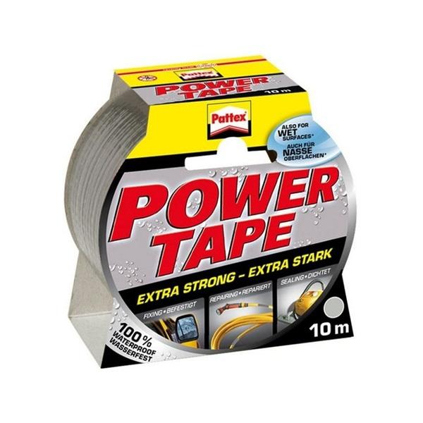 Henkel Power Tape 50mmx10m ezüst ragasztószalag - 1