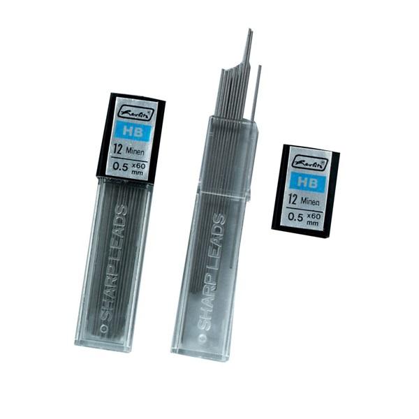 Herlitz 0,5mm HB 2x12db-os töltőceruza betét - 1