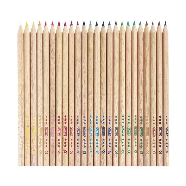 Herlitz 24db-os vegyes színű színes ceruza - 2