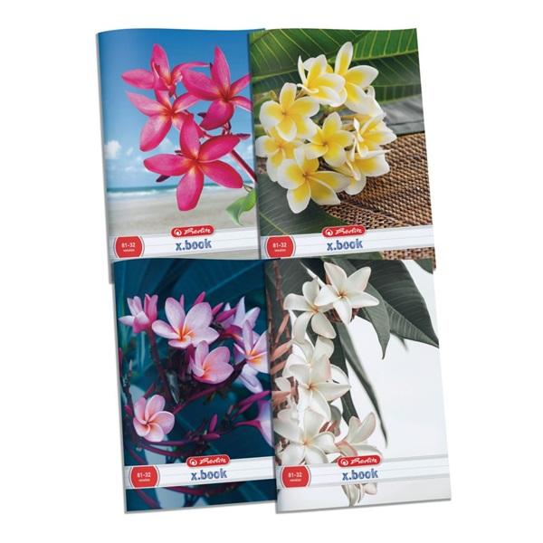 Herlitz Flower A4 80-32 vonalas füzet - 1