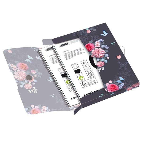 Herlitz Ladylike Flower Easy Orga To Go A4 PP füzetbox - 3
