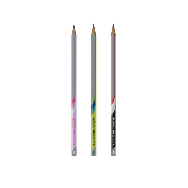 Herlitz my.pen trio HB 2db-os BL ceruza - 1
