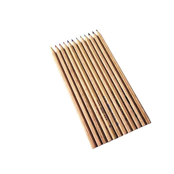 Herlitz natúrfa 12db-os vegyes színű színes ceruza - 2
