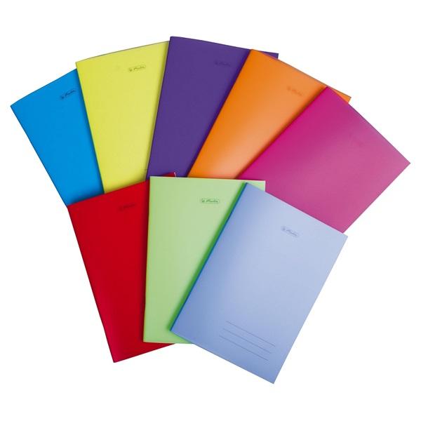 Herlitz PP A5 60lapos kockás vegyes színű füzet - 1