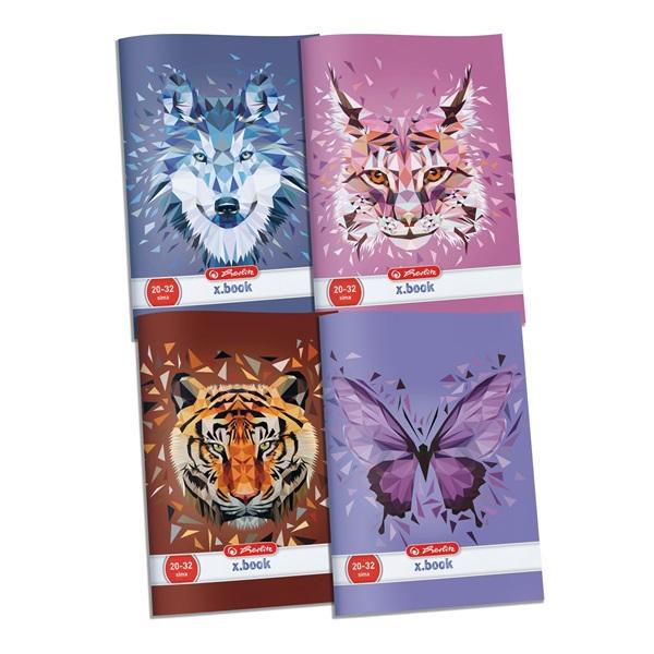 Herlitz Wild Animals A4 sima füzet - 1