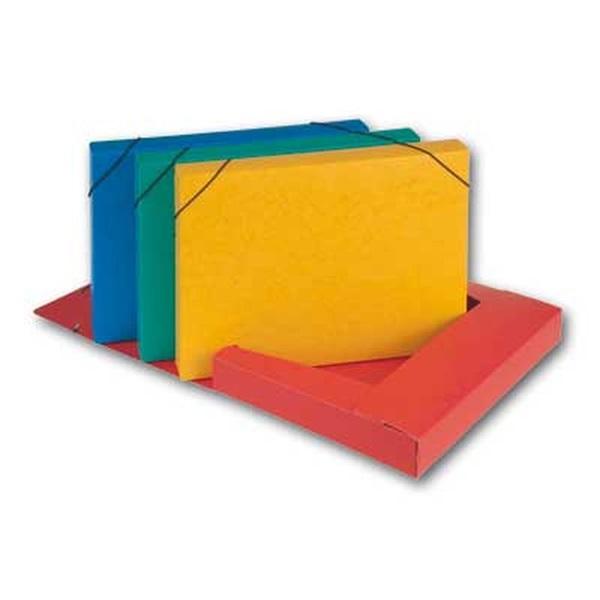 Hit A4 prespán kék gumis box - 1