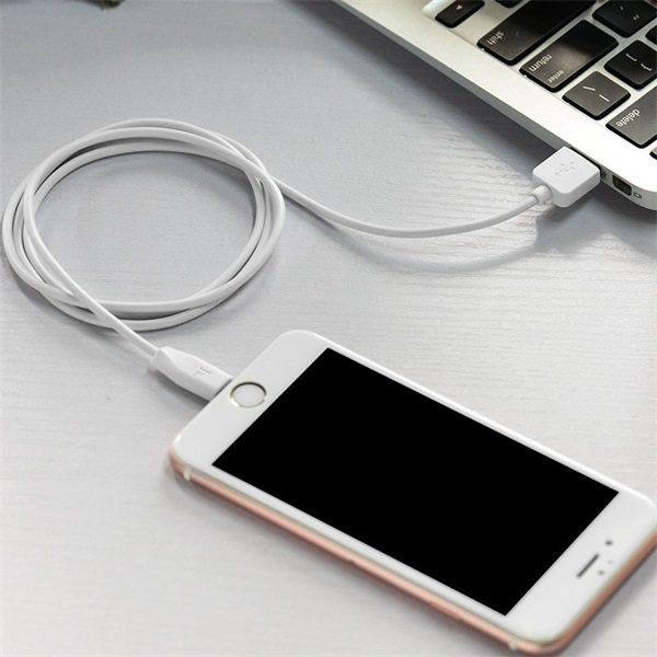 Hoco HOC0034 X1 3m fehér Lightning USB kábel - 2