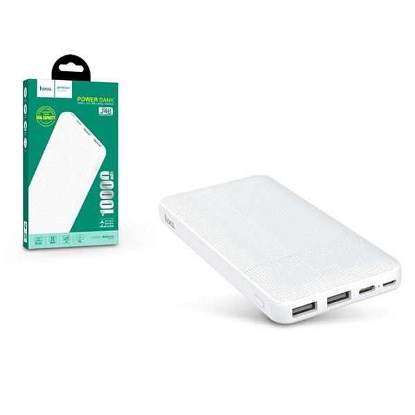Hoco HOC0041 J48 NIMBLE 10000mAh fehér powerbank - 1