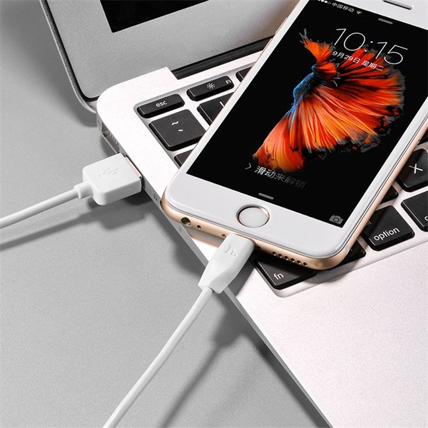 Hoco HOC0053 X1 1m fehér Lightning USB kábel - 3