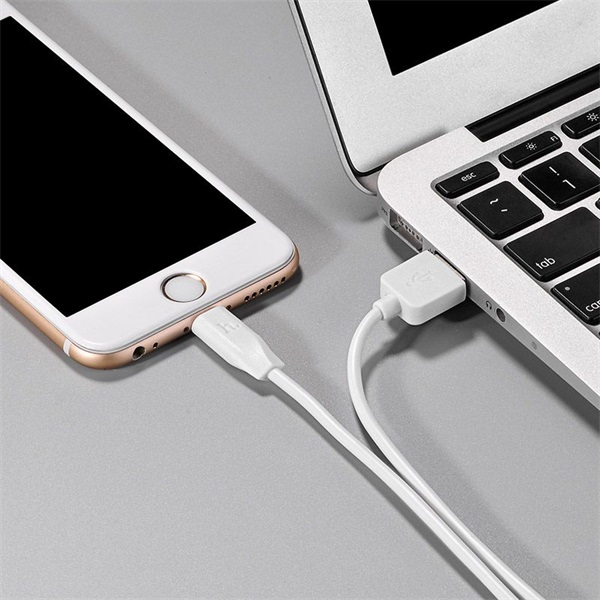 Hoco HOC0053 X1 1m fehér Lightning USB kábel - 4