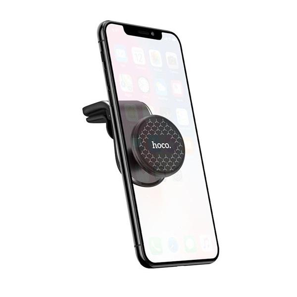 Hoco HOC0107 CA59 univerzális szellőzőrácsba illeszthető autós telefon tartó - 2