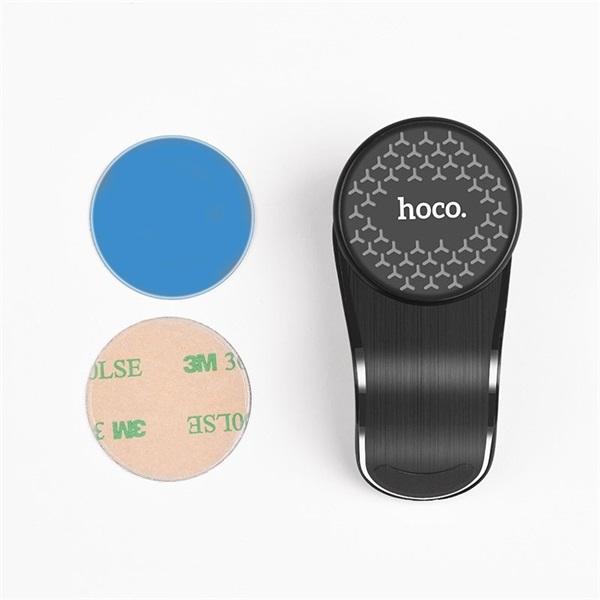 Hoco HOC0107 CA59 univerzális szellőzőrácsba illeszthető autós telefon tartó - 5