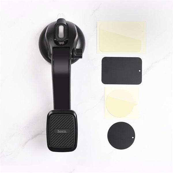 Hoco HOC0109 CA45A univerzális műszerfalra/szélvédőre helyezhető mágneses autós telefon tartó - 8