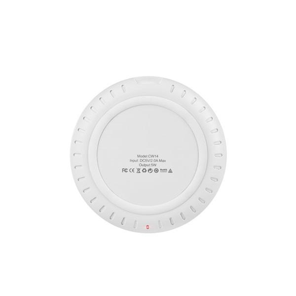 Hoco HOC0184 CW14 5W univerzális piros vezeték nélküli töltő - 2