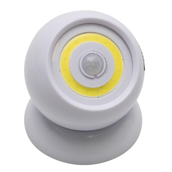 Home PNL 5 fehér forgatható LED lámpa mozgásérzékelővel - 1