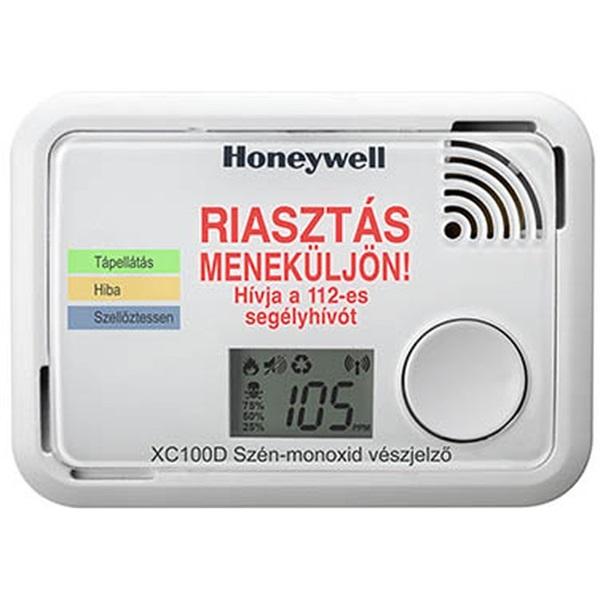 Honeywell XC-100D-HU-A kijelzős szén-monoxid érzékelő - 1