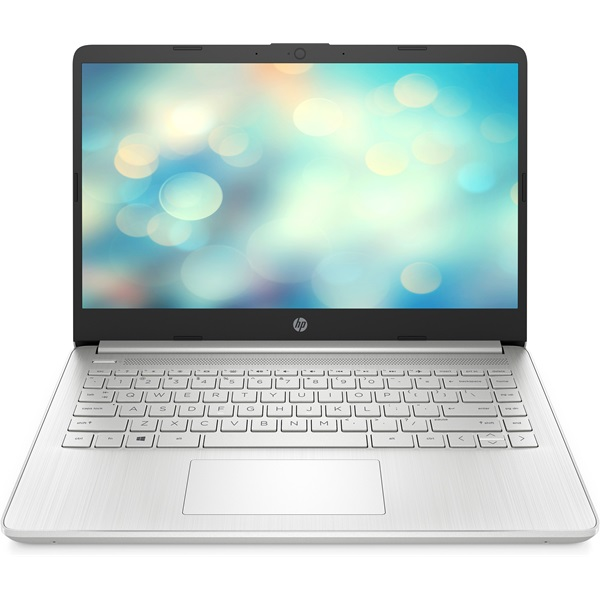 HP 14s-fq0020nh laptop (14FHD AMD Ryzen 5-4500U/Int. VGA/8GB RAM/256GB/DOS) - ezüst - 1