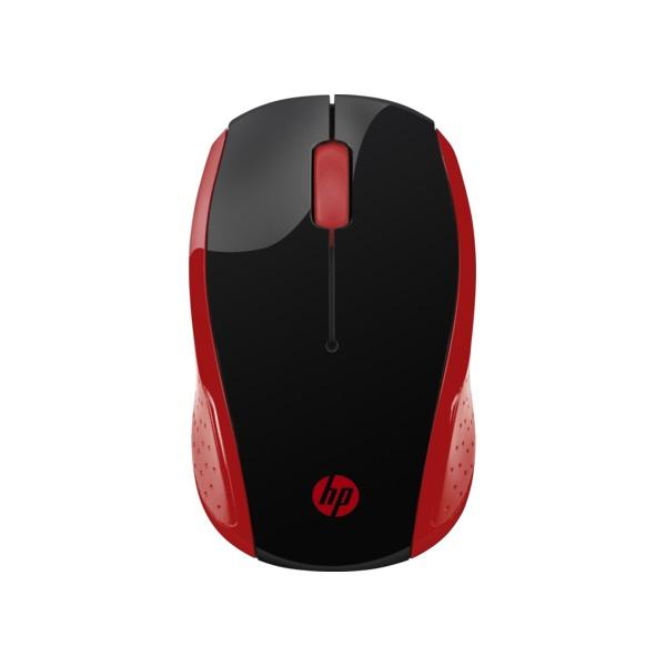 HP 200 vezeték nélküli piros egér - 3