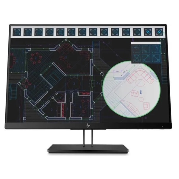 HP 24 1JS08A4 Z24i G2 full HD IPS LED VGA HDMI DP monitor - 4