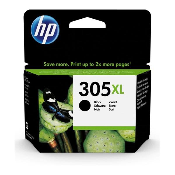 HP 3YM62AE (305XL) fekete nagykapacítású tintapatron - 1