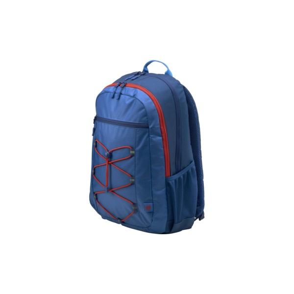 HP Active Backpack 15,6 kék-piros notebook hátizsák - 2