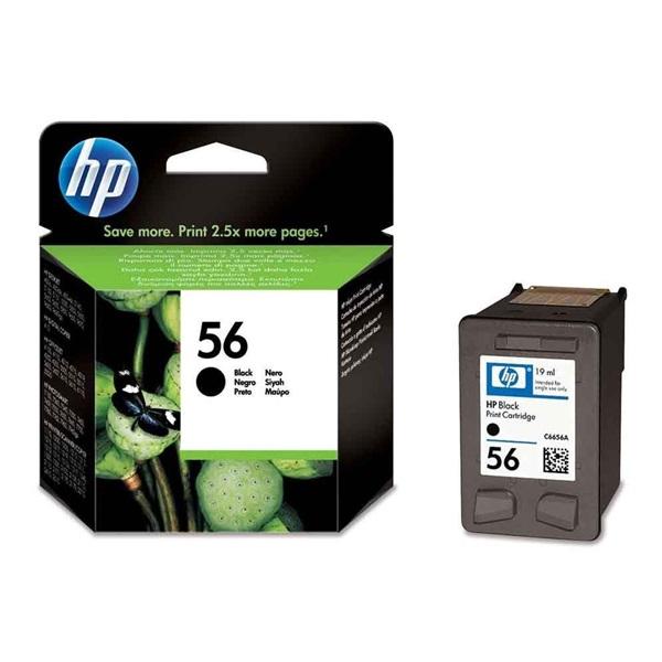HP C6656AE (56) fekete tintapatron - 1