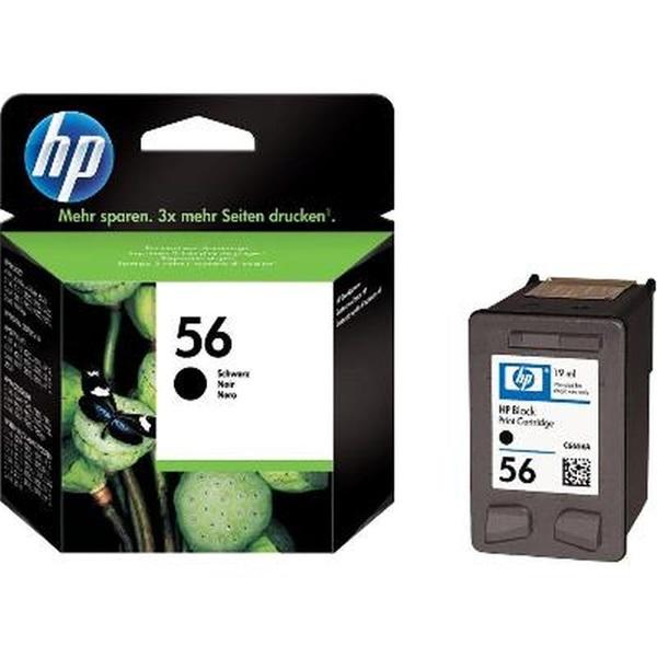 HP C6656AE (56) fekete tintapatron - 2