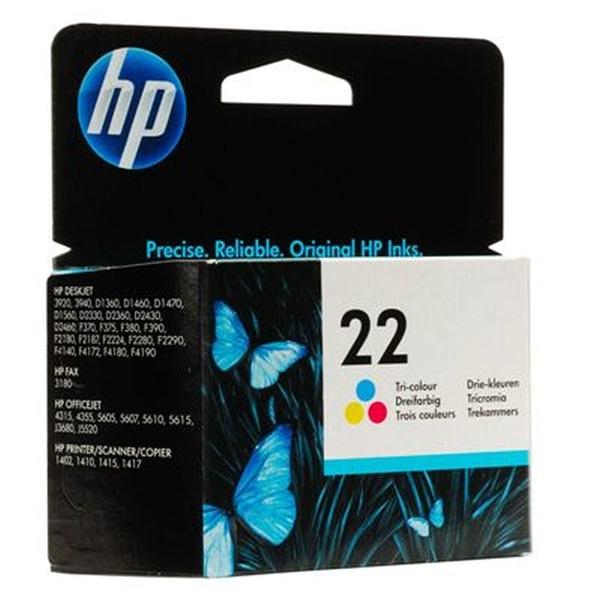 HP C9352AE (22) színes tri-color tintapatron - 2