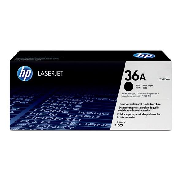 HP CB436A (36A) fekete toner - 1