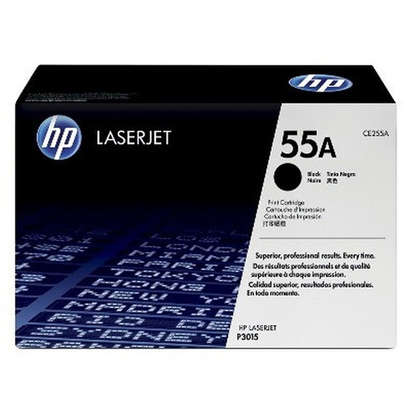 HP CE255A (55A) fekete toner - 2
