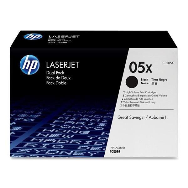 HP CE505X (05X) fekete nagykapacitású toner - 1