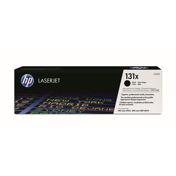 HP CF210X (131X) fekete nagykapacítású toner - 1