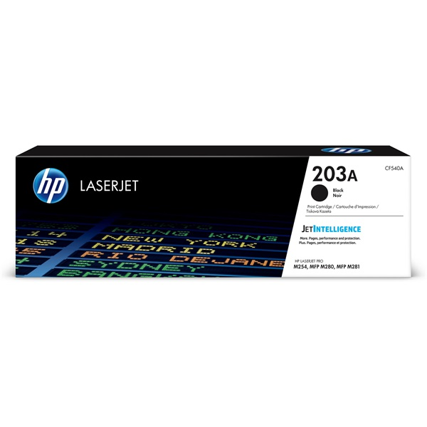 HP CF540A (203A) fekete toner - 1