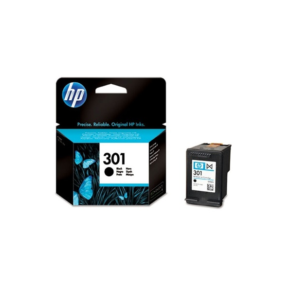 HP CH561EE (301) fekete tintapatron - 1