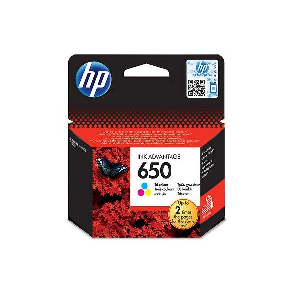 HP CZ102AE (650) háromszínű tintapatron - 1