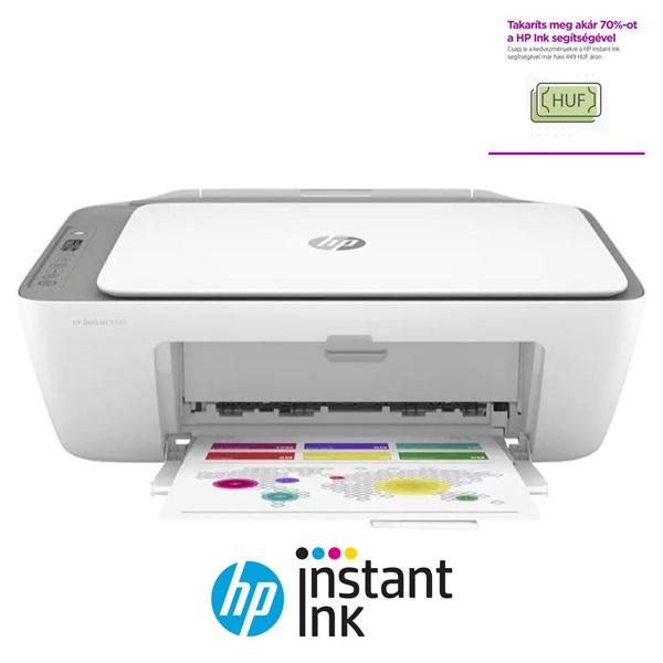 HP DeskJet 2720E tintasugaras multifunkciós nyomtató - 1