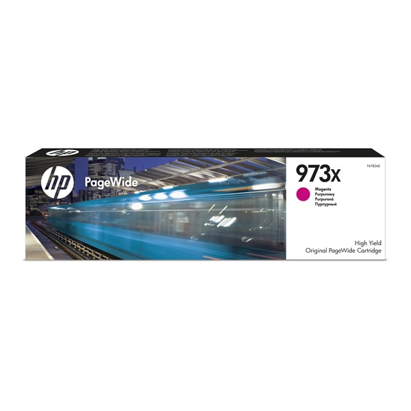 HP F6T82AE (973XL) magenta tintapatron - 1