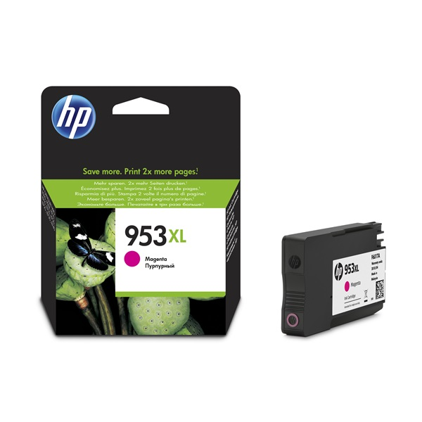 HP F6U17AE (953XL) magenta tintapatron - 1
