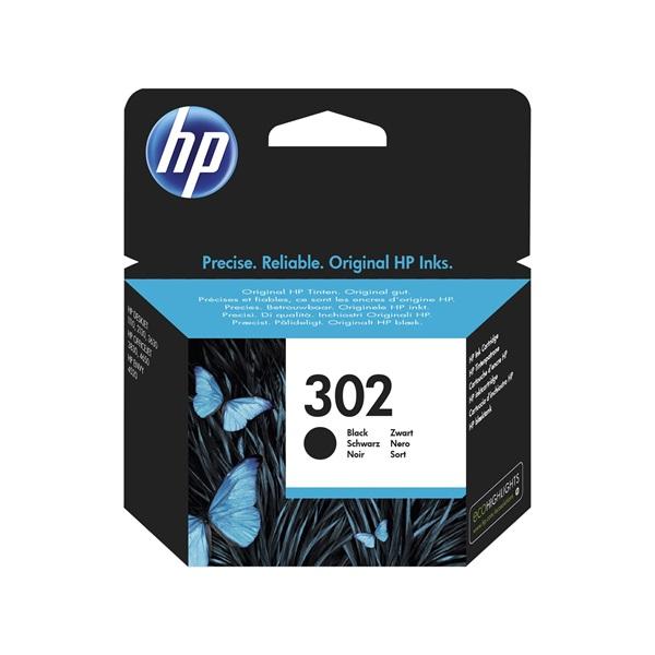 HP F6U66AE (302) fekete tintapatron - 1
