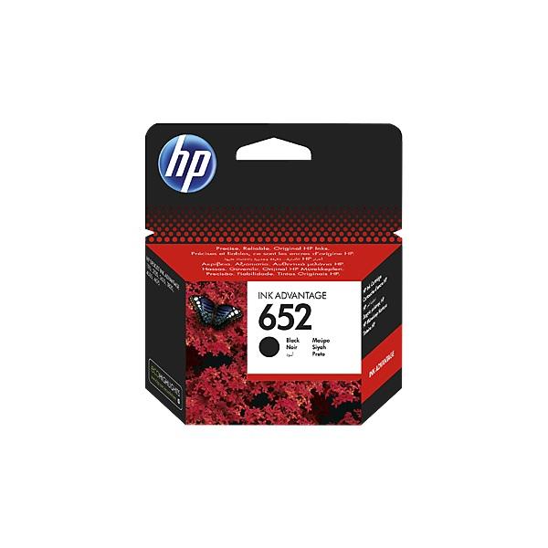 HP F6V25AE (652) fekete tintapatron - 1