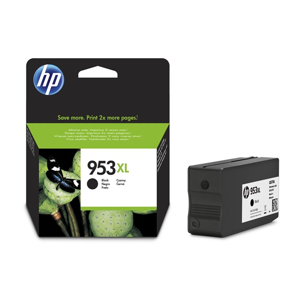 HP L0S70AE (953XL) fekete tintapatron - 1