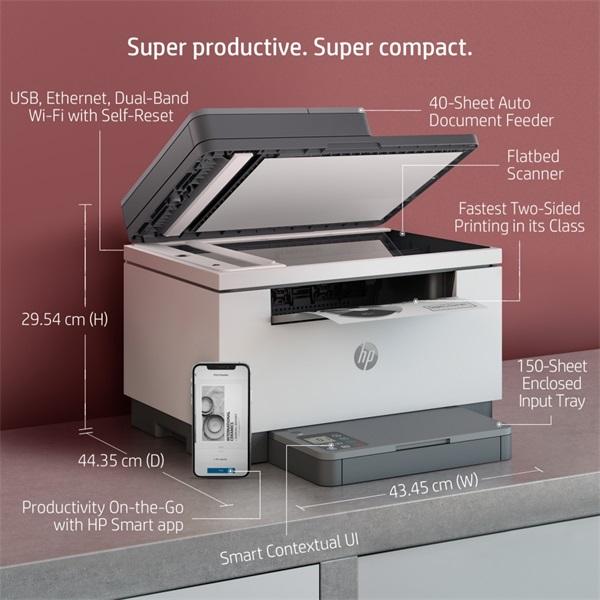 HP LaserJet MFP M234sdw multifunkciós lézer nyomtató - 6