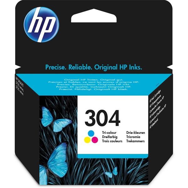 HP N9K05AE (304) háromszínű tintapatron - 1