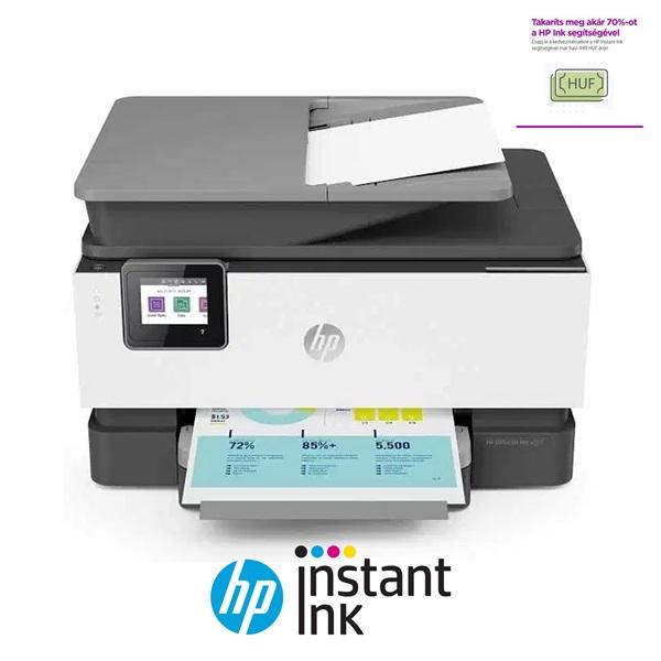 HP OfficeJet Pro 9010 e-AiO multifunkciós tintasugaras nyomtató - 1