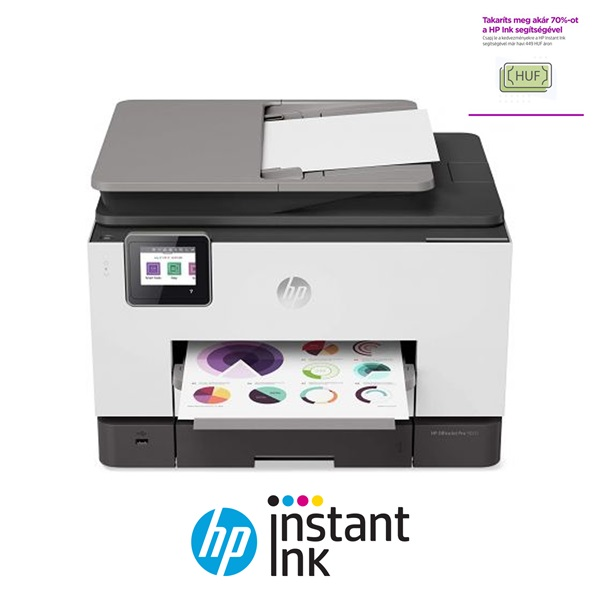 HP OfficeJet Pro 9020 e-AiO multifunkciós tintasugaras nyomtató - 1
