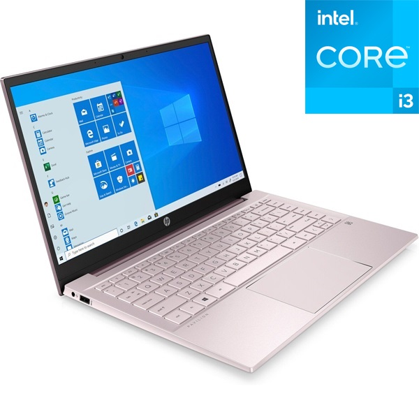 HP Pavilion 14-dv0001nh laptop (14FHD Intel Core i3-1115G4/Int. VGA/4GB RAM/256GB/Win10) - pink - 1